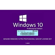 Windows 10 Professional 32 bit/64 bit English International | PC | Download