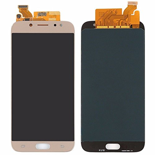 VANKER Pantalla LCD Pantalla táctil Asamblea digitalizador (For Samsung Galaxy J7 2017 J727 Series J727P J727V J727A)_Galaxy J7 2017 727 Oro