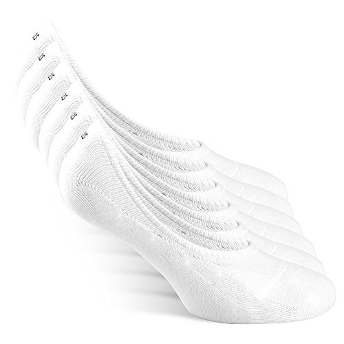 6a07c6b57 Snocks Trainer Socks Ladies Size 6-8 White UK 6 7 8 Invisible Socks Women