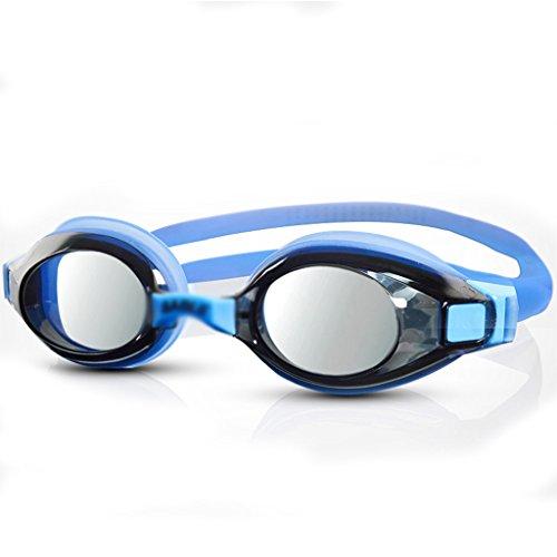 RKY Schwimmen Gläser Anti-UV-Anti-Fog wasserdicht HD Männer und Frauen erhältlich Erwachsene professionelle Ausbildung Schutzbrillen Schwimmen Ausrüstung Brille (Farbe : B) -