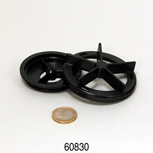 CP 500 Abdeckung Rotor (2 Teile) + Dichtung -