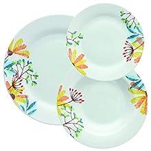 Tognana Servizio tavola 18 Pezzi Cloe, Porcellana, Multicolor