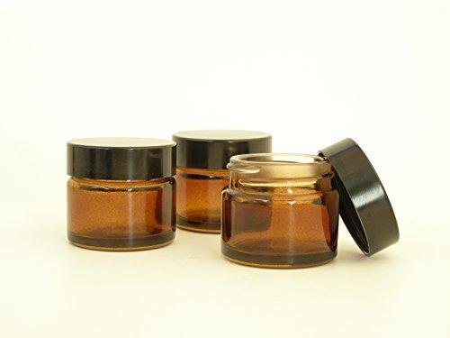 packung-von-2-x-15ml-leer-bernstein-glasdose-mit-schwarzem-deckel-fur-aromatherapie-kosmetik-lippenb