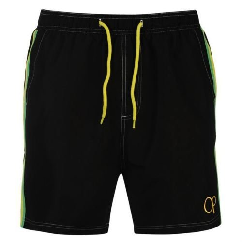 mens-ocean-pacific-swimming-beach-shorts-black-size-small