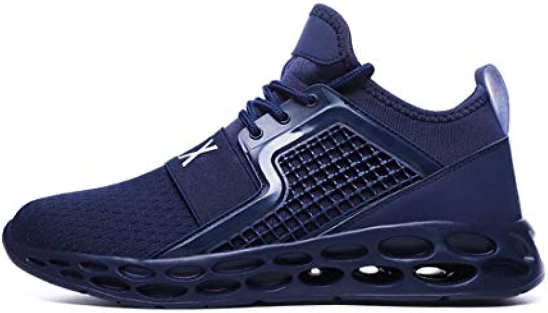 YAYADI Calzature Uomo Moda Estate Smerigliati Smerigliati Smerigliati Outdoor scarpe da ginnastica Uomo Scarpe Casual Fitness Jogging Scarpe Leggere...   Miglior Prezzo  eef293