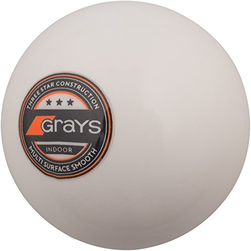 GRAYS Innen Indoor Hockey Ball - Weiß, 5.5 oz