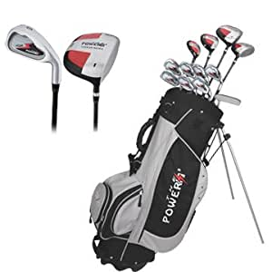 Confidence Golf Power Clubs Set and Bag Mens Left Hand