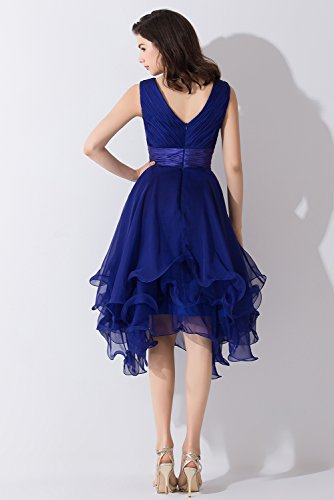 Victory Bridal - Robe - Trapèze - Femme Bleu - Bleu