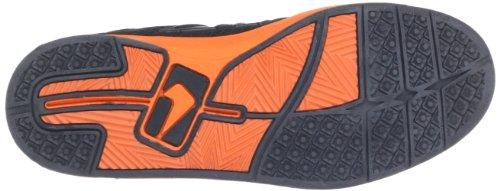 Globe Lift GBLIFT Unisex-Erwachsene Sneaker Schwarz (black/orange 10194)