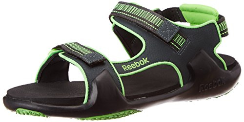 2e6ff8c040670 Reebok v62335 Unisex Trail Blaze Lp Grey And Green Mesh Sandals And Floaters  10 Uk- Price in India