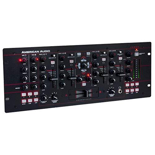 American Audio 19MXR 4-Channel MIDILOG DJ Mixer