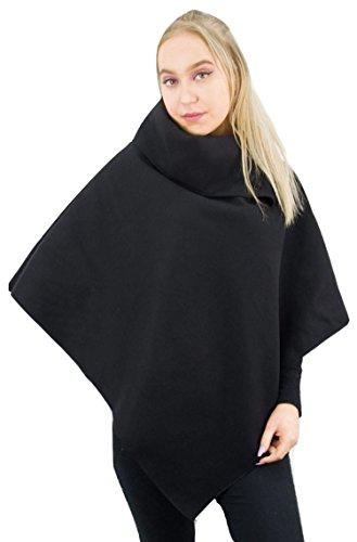Patook - Poncho - Femme Noir