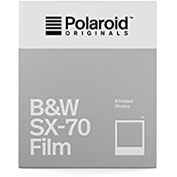Polaroid Originals 4677 Film Noir et Blanc pour Appareil Polaroid SX-70