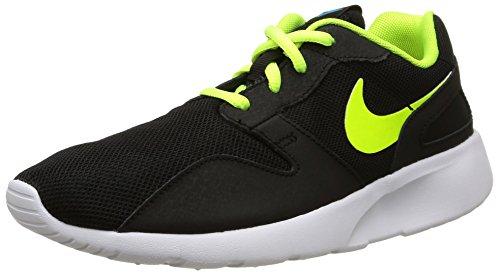 Nike Kaishi (GS) Scarpe Sportive, Ragazzo, Black/Volt/Blue Lagoon, 40