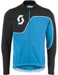 Scott Endurance AS 10 Winter Fahrrad Trikot blau/schwarz 2016