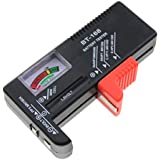 Segolike Battery Tester for AA / AAA / C / D / 9-volt Rectangular and Button Cell Batteries
