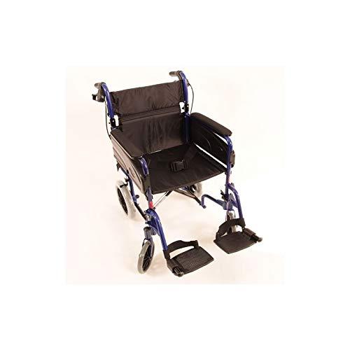 Silla ruedas Modelo Alu Lite Invacare | ancho asiento:
