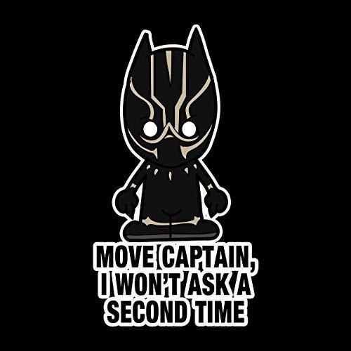 Lil Black Panther Move Captain Men's Vest Black