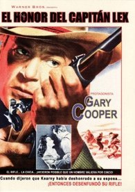 Springfield Rifle (El Honor Del Capitan Lex) Spanish import by Gary Cooper