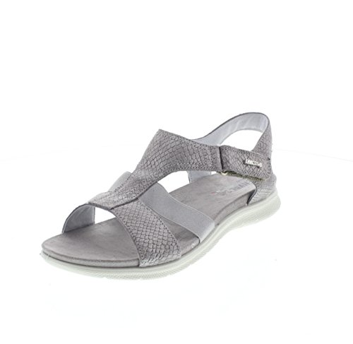 ENVAL SOFT ,  Damen Sandale mit Plateau-Sohle grigio - 400