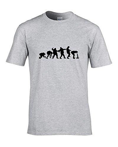 evolution-of-drunken-man-spoof-funny-maglietta-da-uomo-a-cucu-dal-grasso-grigio-medium