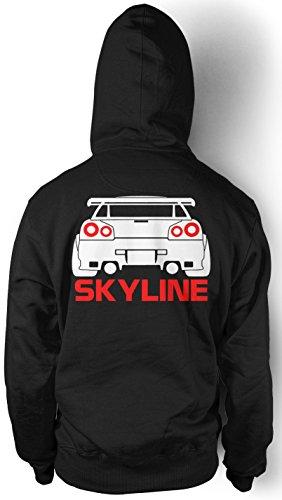 uglyshirt89 Nissan Skyline Kapuzenpullover | Motorsport | Auto | Kult | M3 | Kult (L)