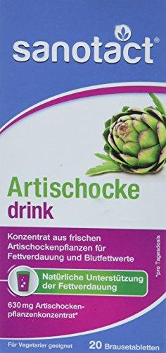 Biolabor Artischocke Brausetabletten, 4er Pack (4 x 82 g)