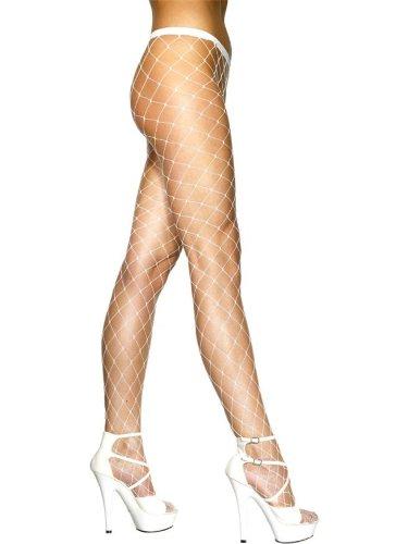 Netzstrumpfhose Netz Strumpfhose grobe Maschen (Größentabelle Smiffys Kostüme)