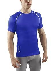 Sub Sports Herren Longsleeve, Stay Cool-Technologie, bleibt kühl, semi Kompression, kurzärmlig