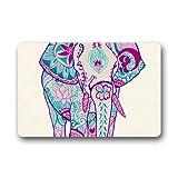 DongMen Custom Favorite Elefant Gummi rutschfeste Fu?matte Indoor/Outdoor 59.9cmx39.8cm