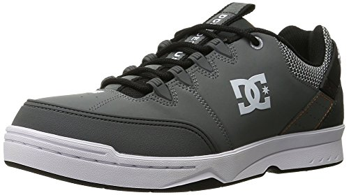 DC, Scarpe da Skateboard uomo Grey/Grey/Orange