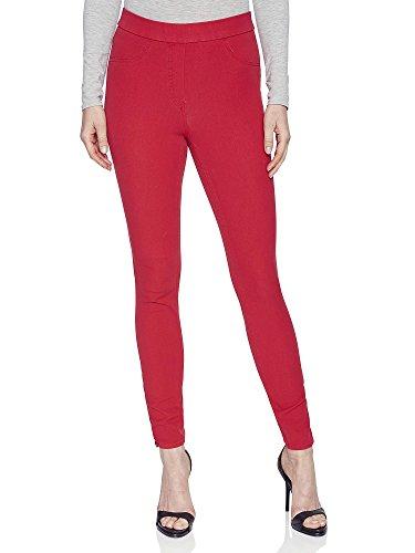 Michaelax-Fashion-Trade -  Pantaloni  - straight - Basic - Donna Beige (0020)