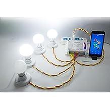 Switch conmutador Inalámbrico control remoto smartphone domotica inteligente 4 canales control telefono de OPEN BUY