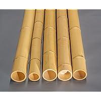 9,8 bis 12cm Bambusrohr Moso mit 100cm gelblich Durch gebleicht