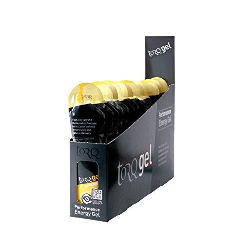 41UT3MakKwL. SS500  - TORQ Unisex's Energy Gel, Lemon Drizzle, 15 x 45g