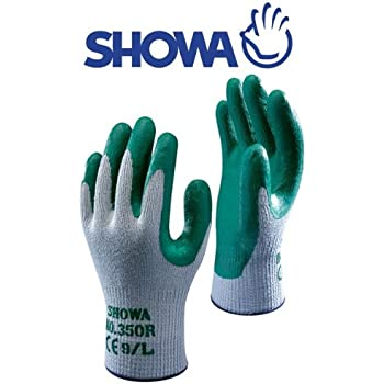 Gardening Gloves 10 X Showa 350r Thorn Master Nitrile Grip Gardening Work Safety Gloves All Sizes