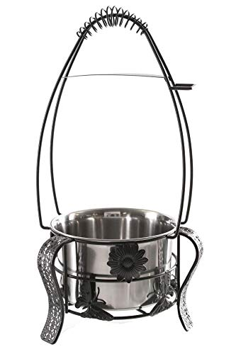 Kaya Shisha Kohlekorb Oriental Groß zum Hantieren mit Shisha-Kohle beim Gebrauch der Wasserpfeife, Durchmesser ca. 12cm