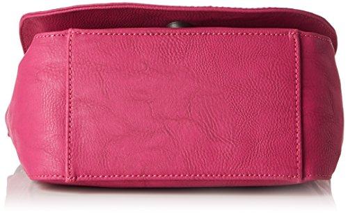 Fritzi aus Preußen Damen Grela Umhängetasche, 10x18x24 cm Pink (Pink)