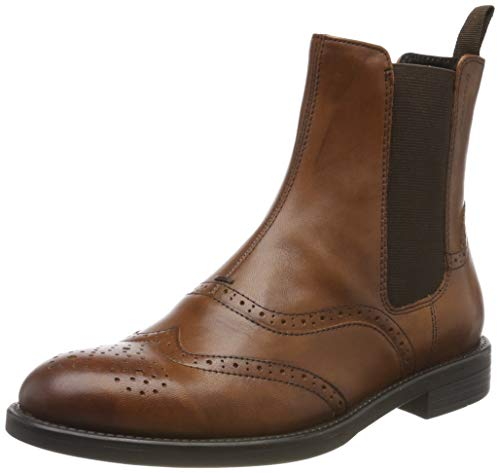 Vagabond Damen Amina Chelsea Boots, Braun (27 Cognac), 37 EU