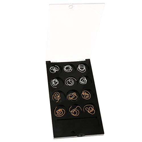 Generic Gold & Silver Nail Art Caviar Ball Beads Chain Glitter Metallic Decorations  available at amazon for Rs.170