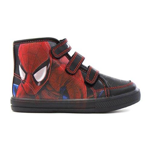 Spiderman , Jungen Stiefel Schwarz