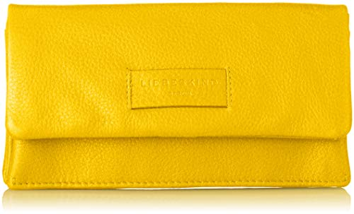 Liebeskind Berlin Damen Essential Slam Wallet Large Geldbörse Gelb (Tawny Yellow), 3.0x11.0x19.0 cm