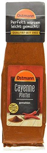 Ostmann Cayenne-Pfeffer gemahlen, 3er Pack (3 x 40 g)