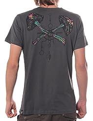 Camiseta Setas alucinógenas - Diseño psicodélico con hongos mágicos en algodón premium para hombre
