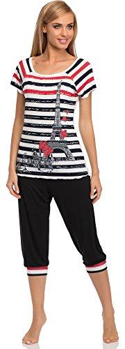 Merry Style Pyjama Femme Renee Navy Bleu