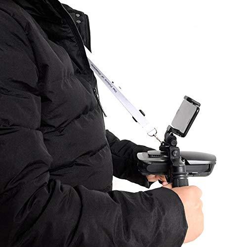 Sisit Mavic Luft Handheld Yuntai Halterung Gummi Griff Stabilisator,Gimbal Kamera Tray Handheld Stabilisator Halterung Kit für DJI Mavic Air Drone Teile (Schwarz)