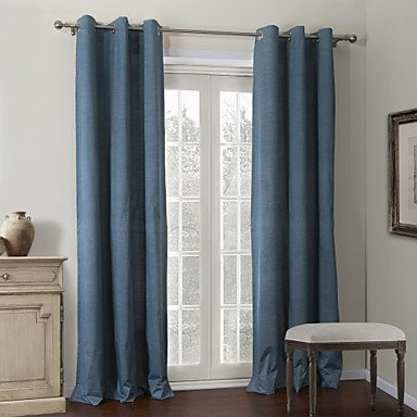 CLL/ (Zwei Platten) Tinte blaue Beschichtung Wärmevorhang , Double Pleated-2* , Double Pleated-2*