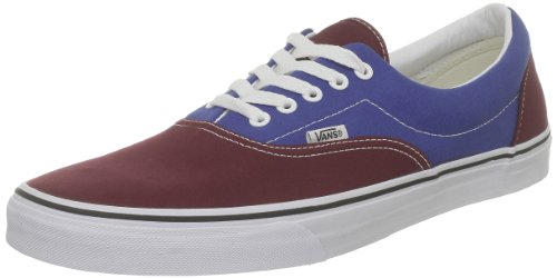 Vans U Era Sneaker Unisex Adulto Rosso rouge Bleu tawny Port true Blue