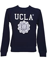 Mens Navy Lauther Crest Sweater from UCLA Clothing
