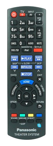 remote-control-for-panasonic-sc-btt190-home-entertainment-sound-system-with-two-121av-aaa-batteries-